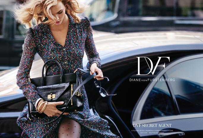 Watch @KarlieKloss go undercover in @DVF's latest campaign video: http://t.co/fhSty76p1s http://t.co/f8kcwu5TW2