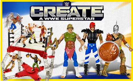 f36fc9beede9 Ever wanted to create your own Superstar  Now you can at Argos with these  great new WWE Create a Superstar Figures!