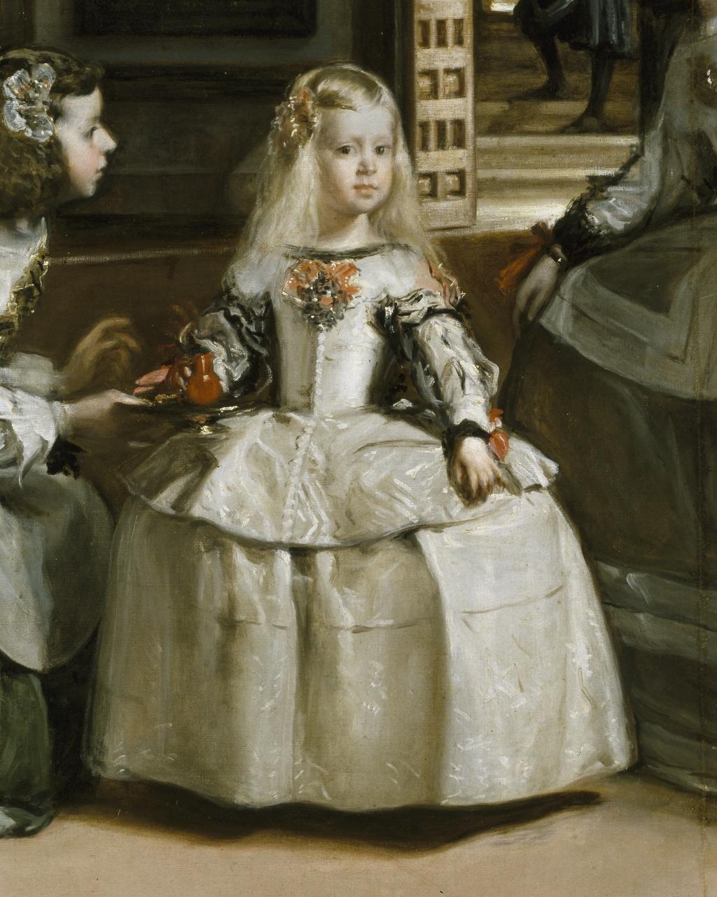 Las Meninas impresi/ón oficial del Museo del Prado