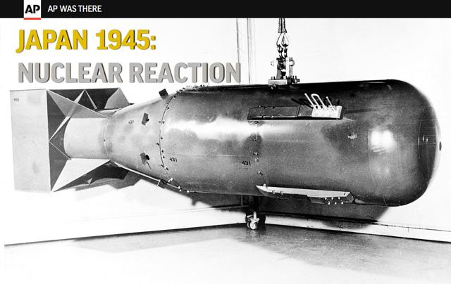 70 years ago, the U.S. dropped an atomic bomb on #Hiroshima. Read the AP story from that day: http://t.co/cINxo39Ecr