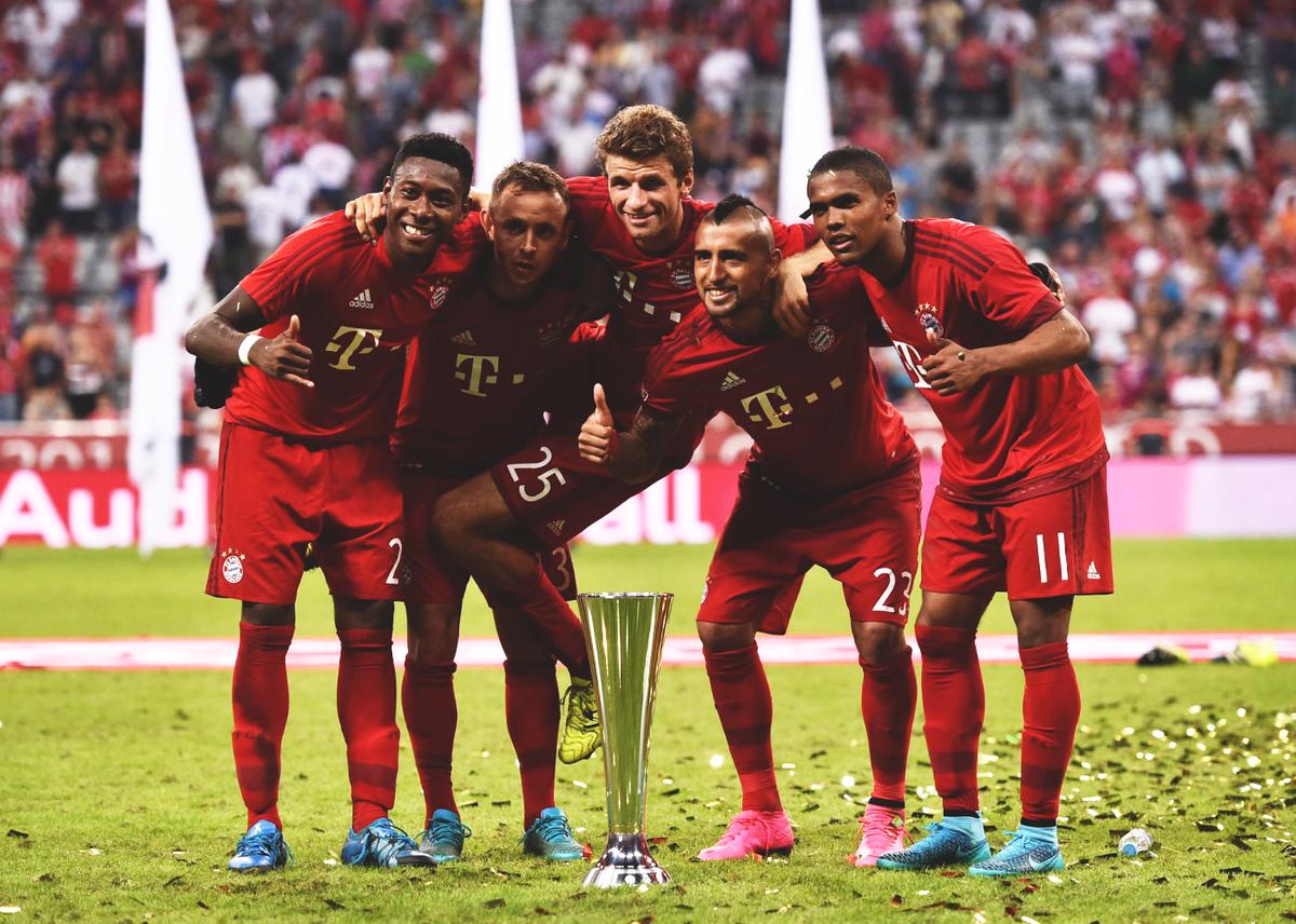 Audi Cup Champions