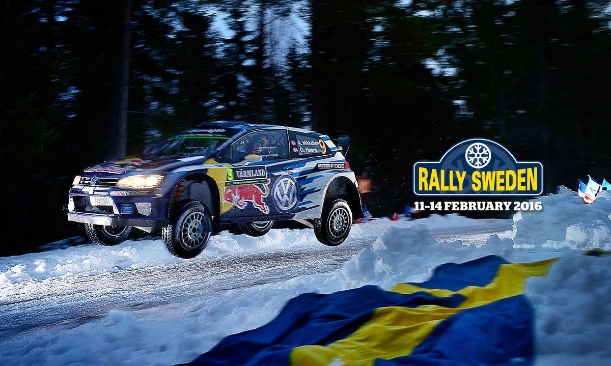Rally Sweden On Twitter Closer To RallySweden February - Rally sweden map 2016