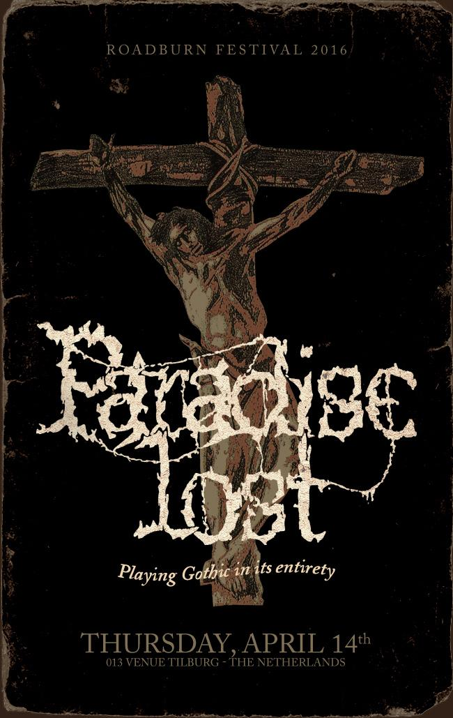 Paradise Lost To Play Gothic In Full at Roadburn 2016; Headlining Thursday, April 14th http://t.co/kjfsT7uAO5 http://t.co/S5Ozy5AkVk