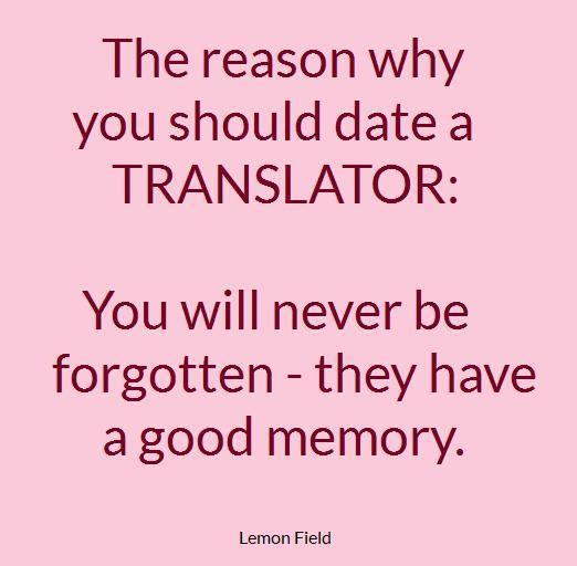 dating a translator free hookup apps london