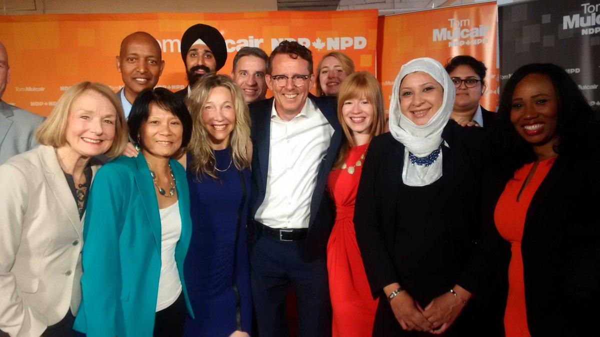 Some serious star women power in the next #NDP federal caucus. Wow! #elxn42 #cdnpoli #TM4PM http://t.co/FaJoslvXN9