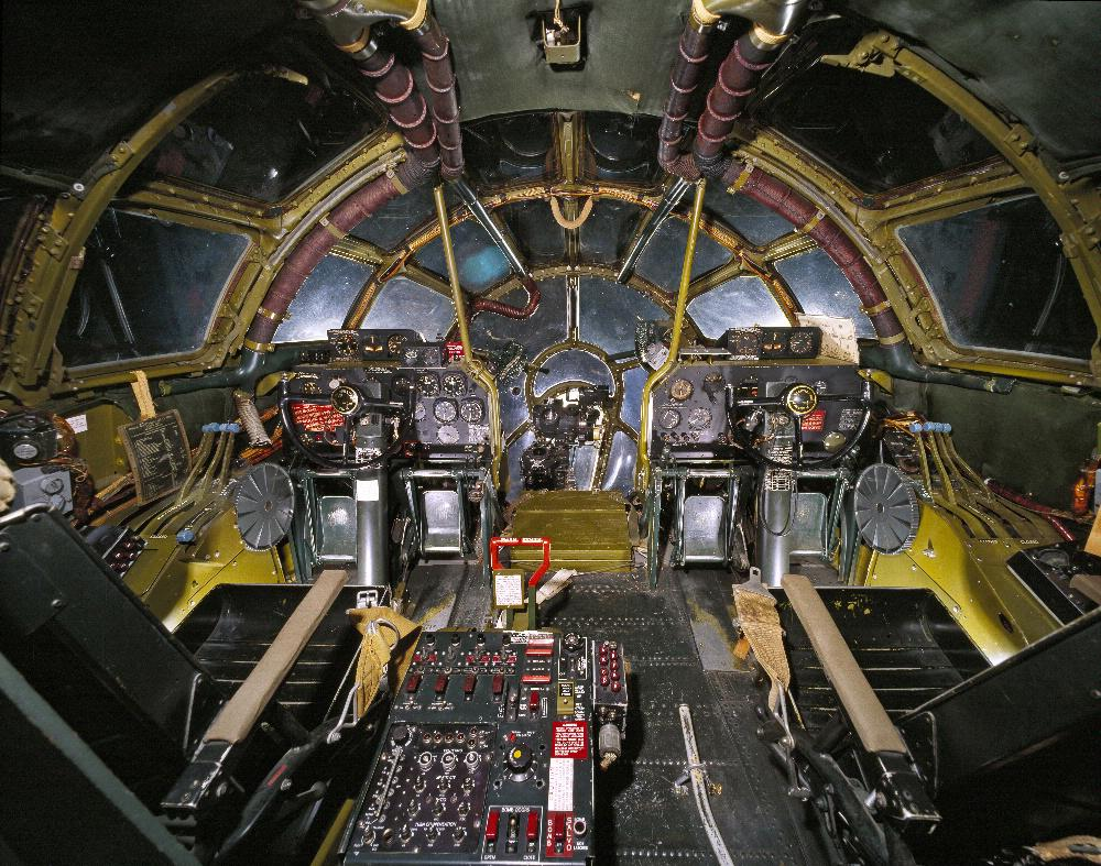 B 29 Inside Panoramic view inside ...