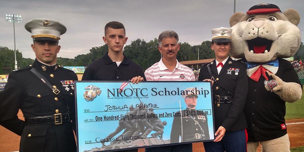 USMC Recruiting On Twitter NROTC Scholarship Winner Joshua Laramie