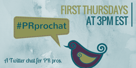 #PRprochat in one hour! Topic: trust signals and social media. http://t.co/I2xDH1uPto