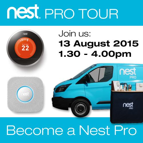 Denmans Electrical On Twitter Quot The Nest Pro Tour Is At