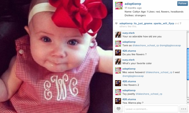 The Lip Tv On Twitter Creepy Baby Role Players Lurk On Instagram