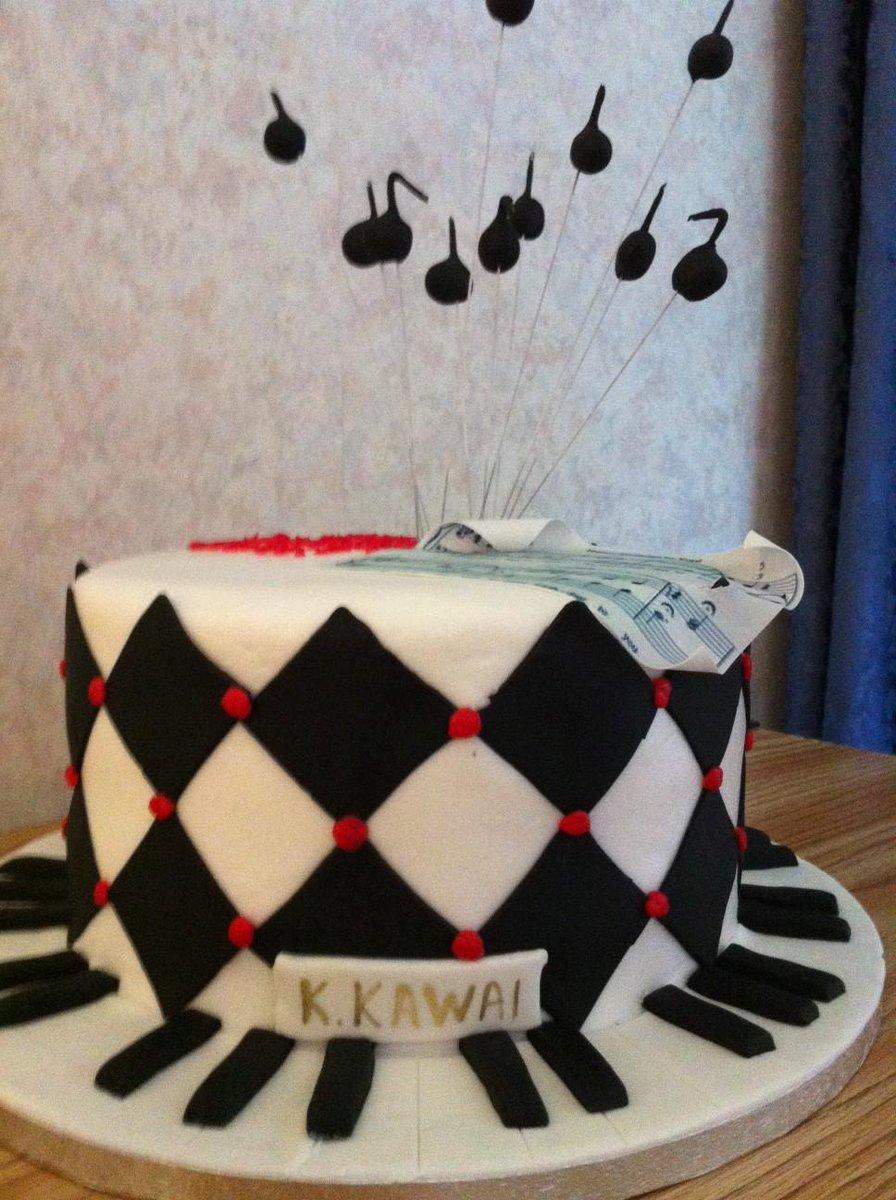 KawaiPianos on Twitter 15 delightful classicalthemed cakes