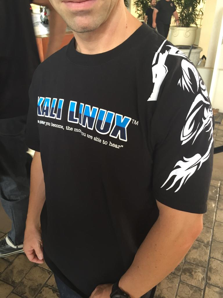 Can we buy online kali linux black hat 2015 t shirts for I can only please one person per day t shirt