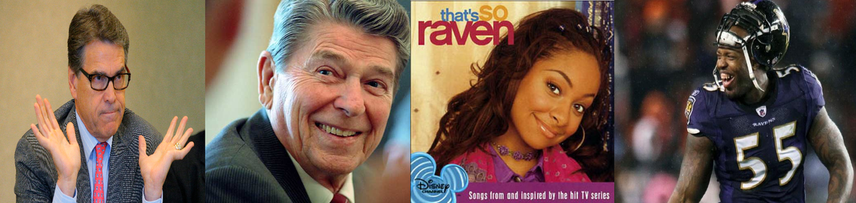 "Rick Perry just said ""Ronald Raven"" when referring to Ronald Reagan. http://t.co/EXXIkra5wQ"