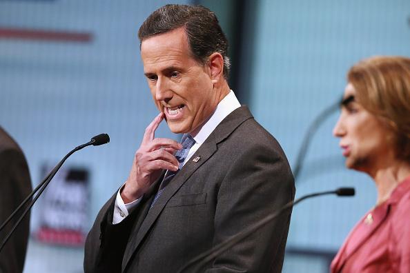 Rick Santorum owns media hack asking if Obama is Muslim