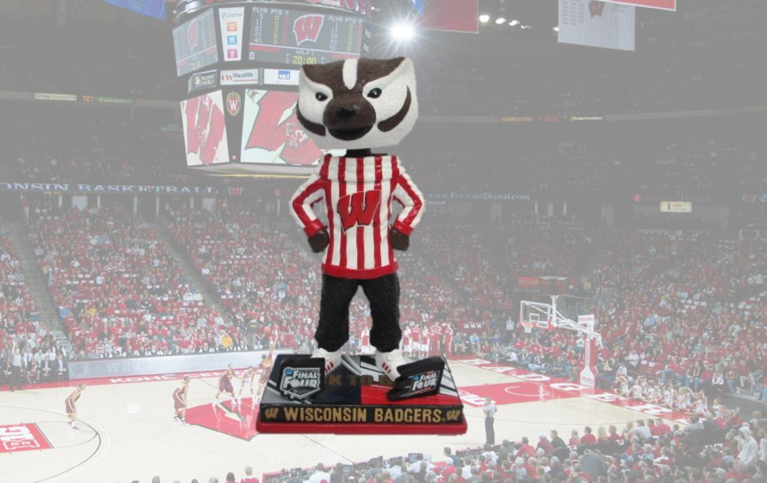 Bobblehead Hall On Twitter Check Out The Bucky Badger Back To Back