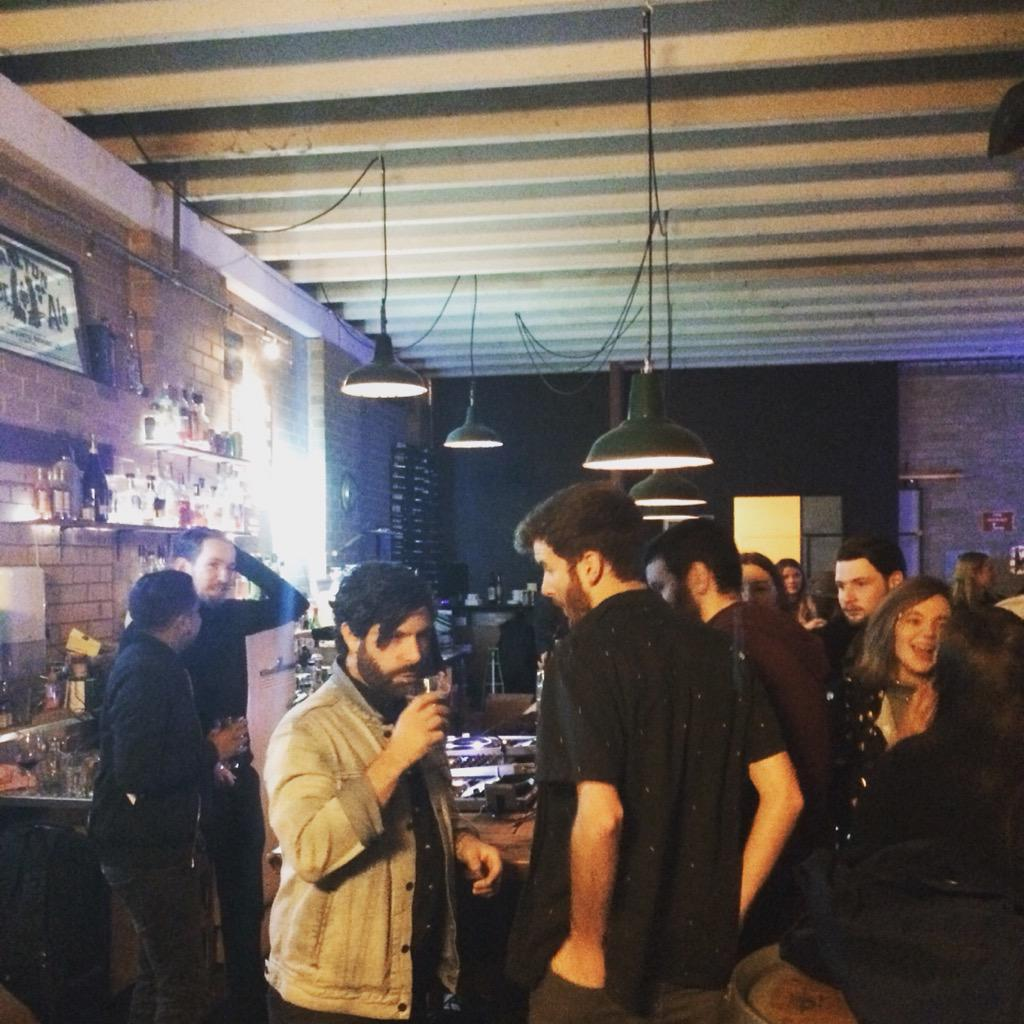 Hung out and Djed at @foals listening party for their new rekkid #Whatwentdown. It sounds massive!! http://t.co/11CLkrtWsw