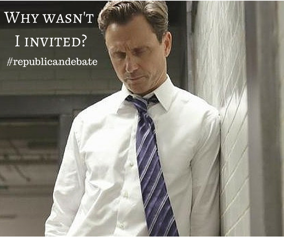 He would have been the best candidate up there @ScandalABC @shondalandtv #republicandebate http://t.co/ncKkPqMMgM