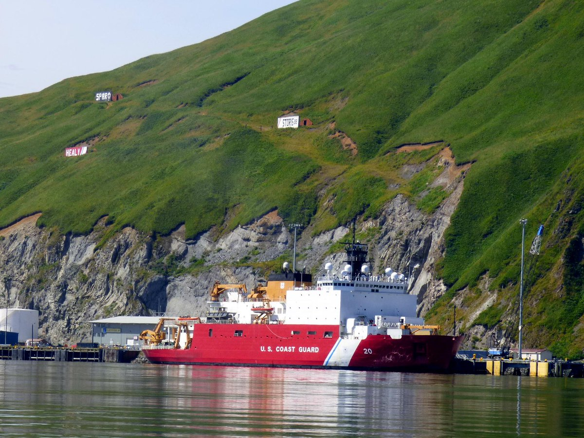 The Healy in Alaska's Dutch Harbor on Aug. 6. KUCB/John Ryan photo.