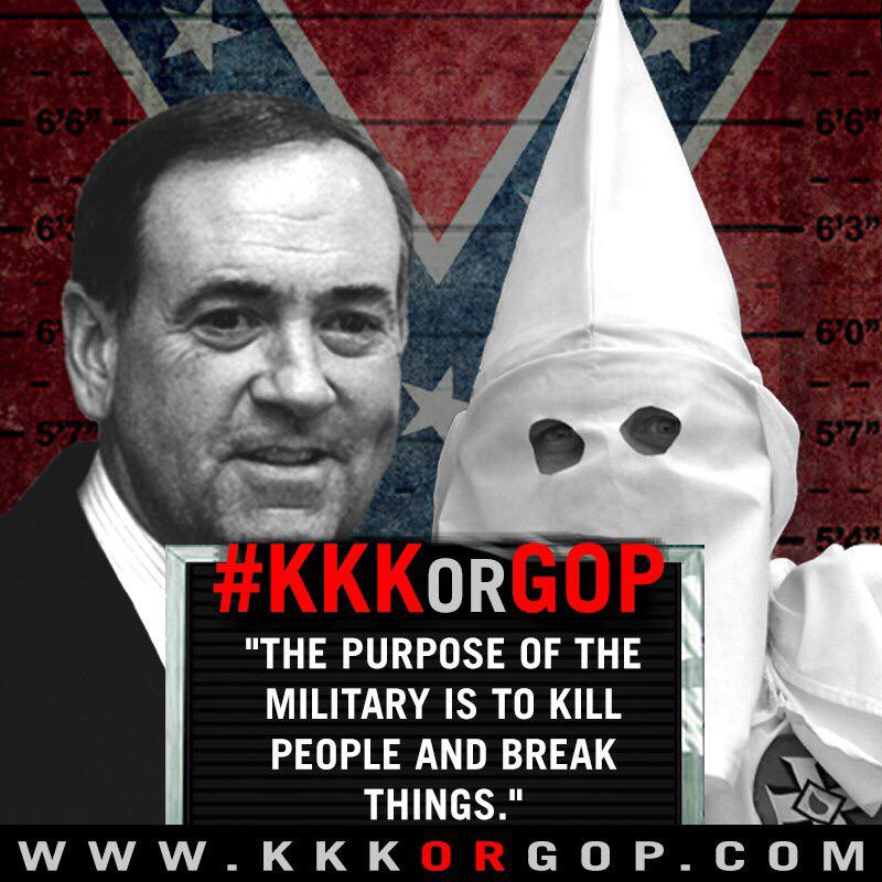 Absolute fuckery. #KKKorGOP #GOPDebate http://t.co/oluBI0W1rR