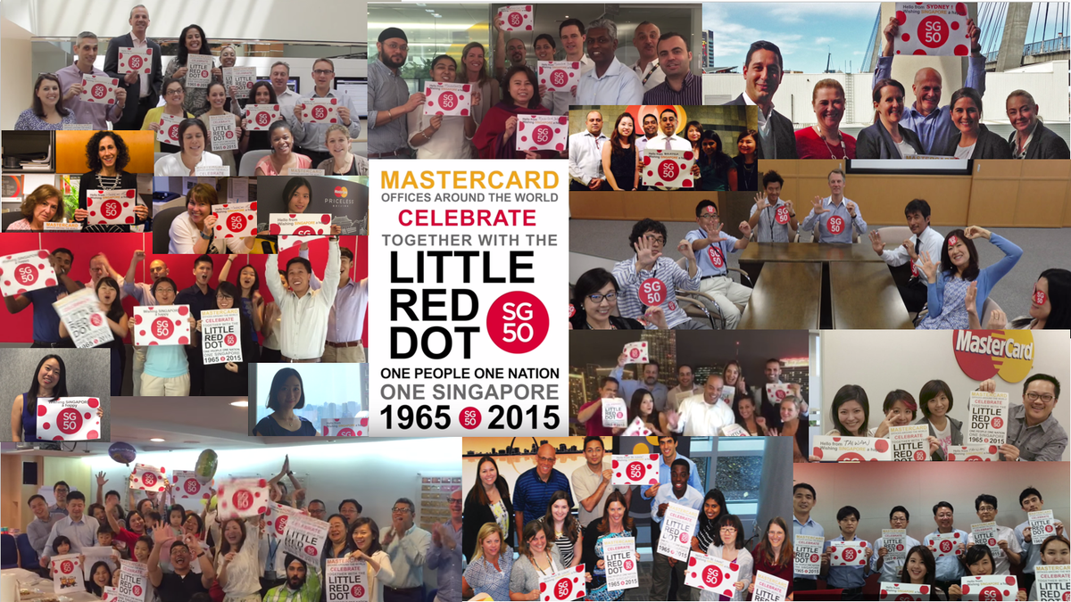 WATCH: As Singapore turns #SG50, #MasterCard offices arnd the world celebrate w her http://t.co/edCYWhns67 #LifeatMC http://t.co/muOWy7qGL8