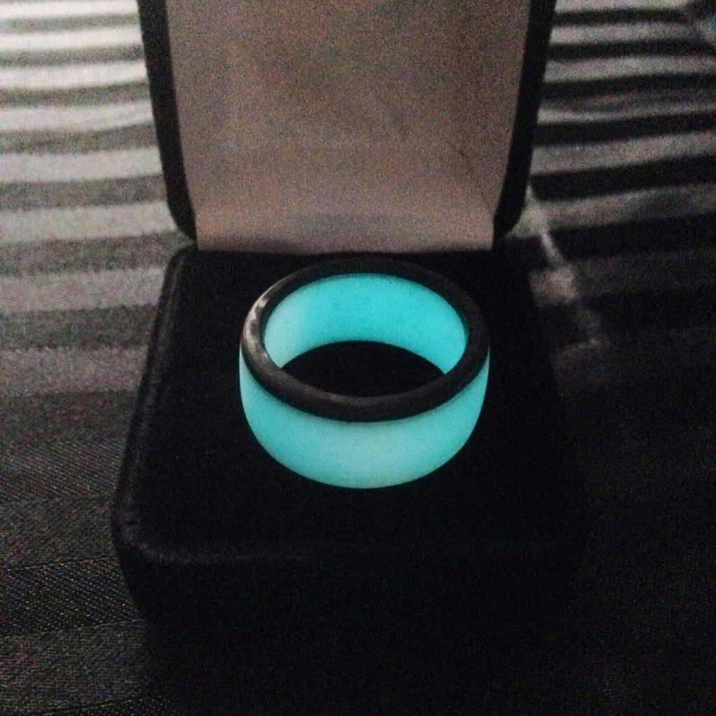 products img blue carbon glow lume ring anilo rings