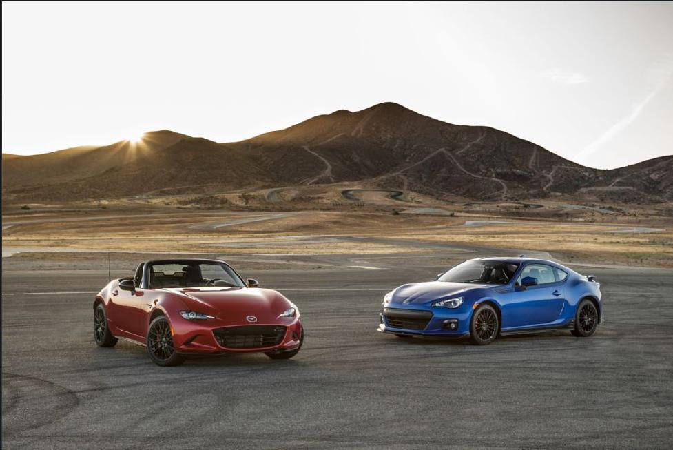 #Mazda #MX5 vs. Subaru BRZ? MX-5 scores first place! Read the @MotorTrend comparison here: http://t.co/0pcpVz4b2M http://t.co/uA5jVVMv19