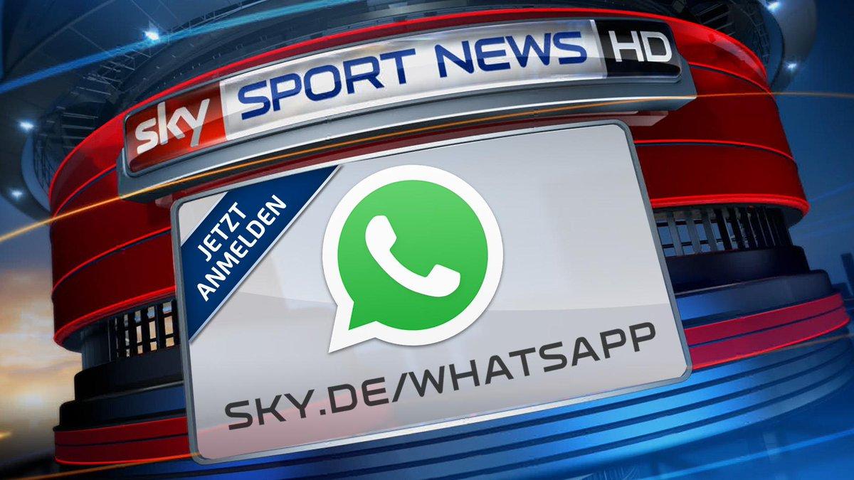 Sky Sport News Hd Jetzt Auch Per Whatsapp Gleich Anmelden Ssnhd