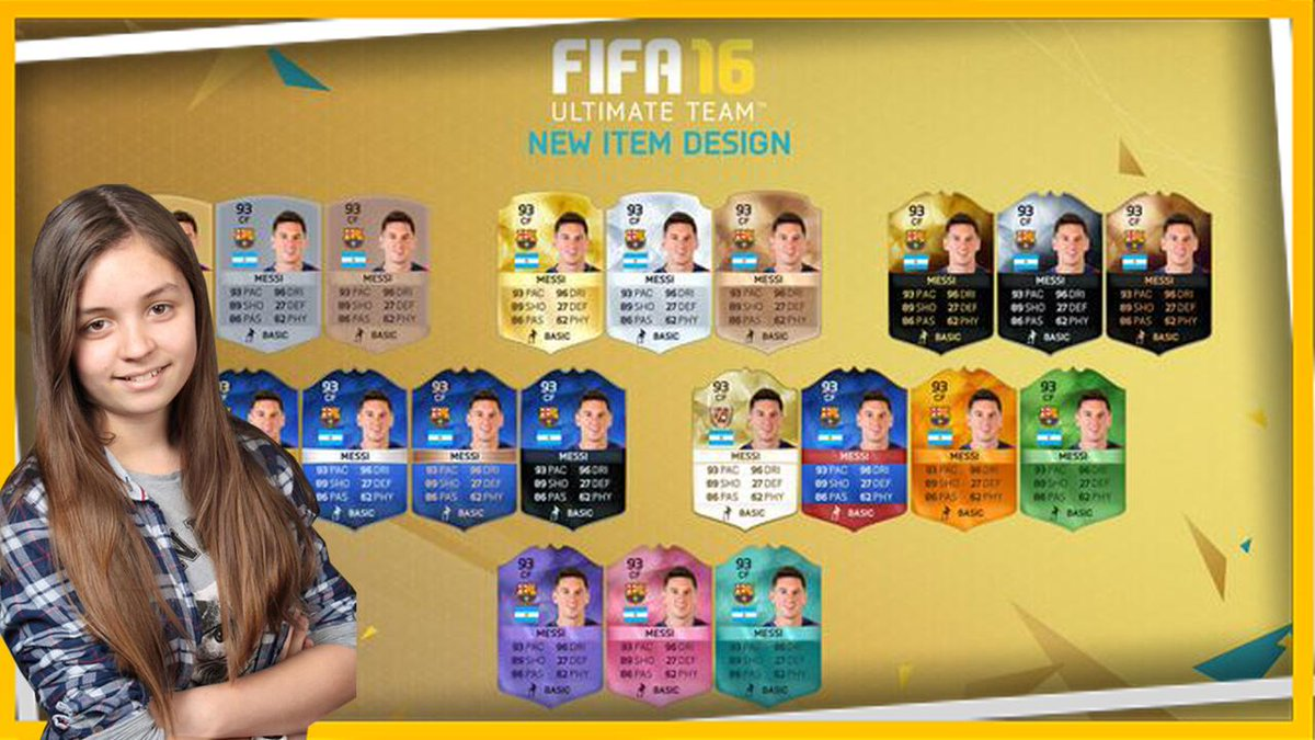 FIFA 16 NEW ITEMS / CARD DESIGNS / Die neuen FIFA 16 Ultimate Team Karten Designs Zum Video:youtube.com/watch?v=mFjkPj…