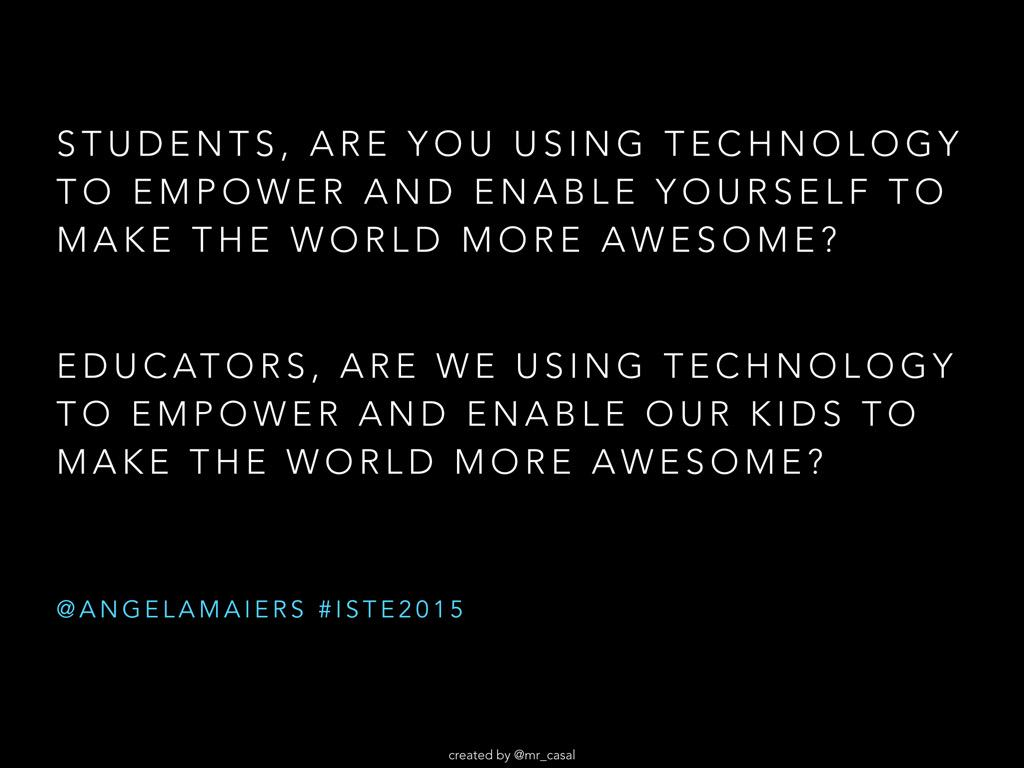 The New Essential Questions! By @mr_casal http://t.co/hsTp5X1asM @AngelaMaiers #satchatoc http://t.co/FNfJoFaYNF