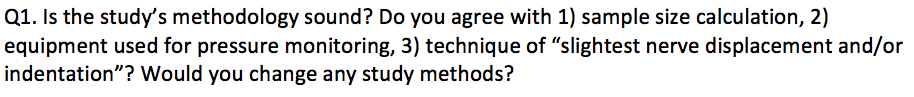 Q1: Methodology #AnesJC http://t.co/s8b8wwHz2F