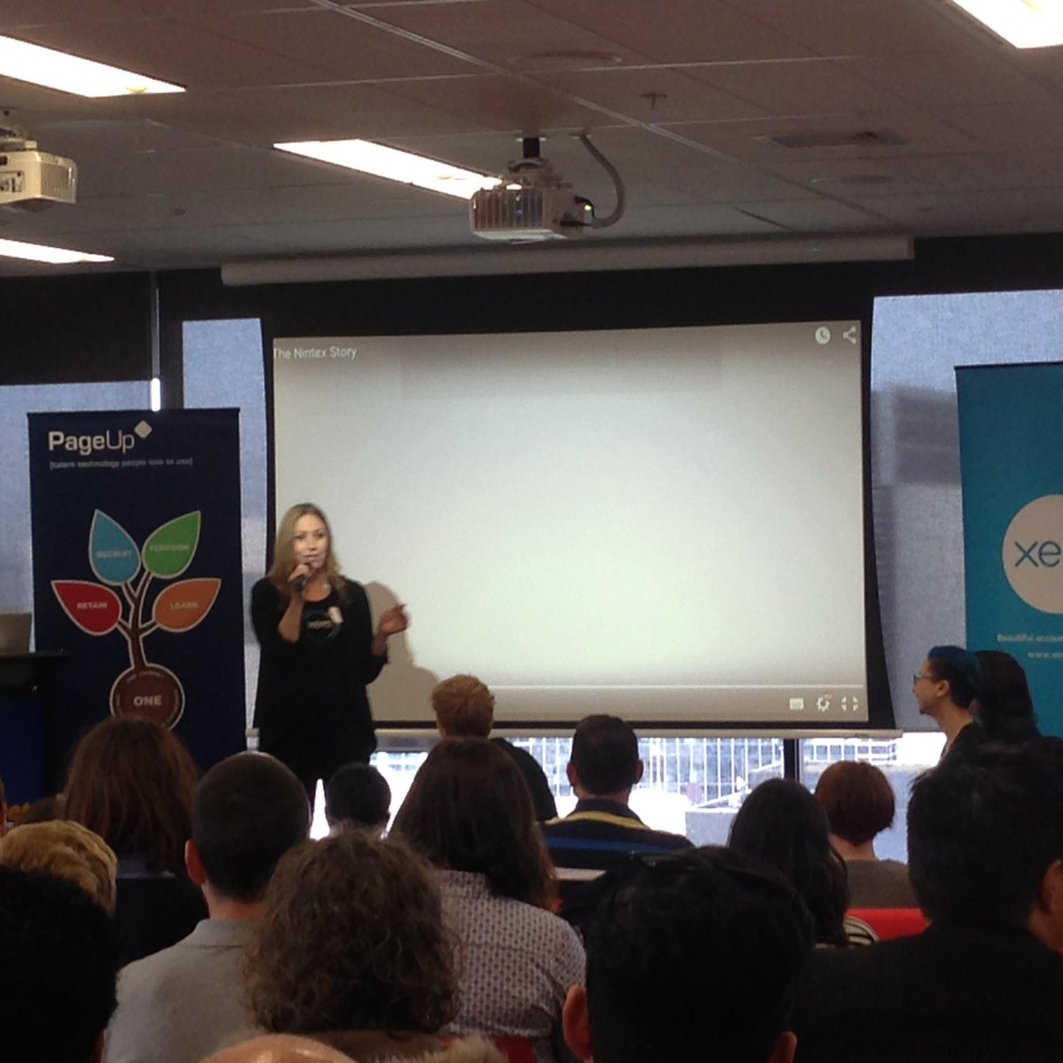 The awesome @LauraCardinalAu from @xero at #pcampmelb http://t.co/e0fhjGewak