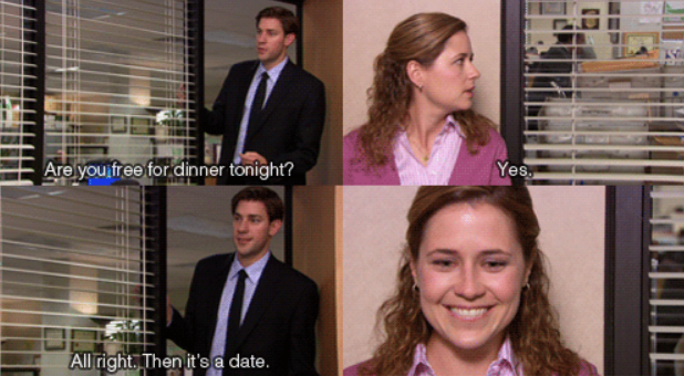17 times Jim Halpert made you happy-cry on The Office http://t.co/OPL0bA7dWQ