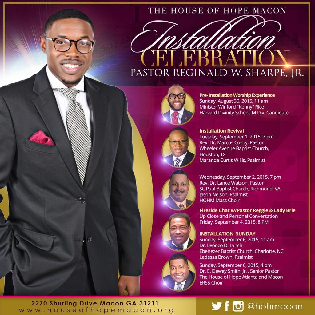 """House of Hope Macon on Twitter: """"Please join us for the ..."""