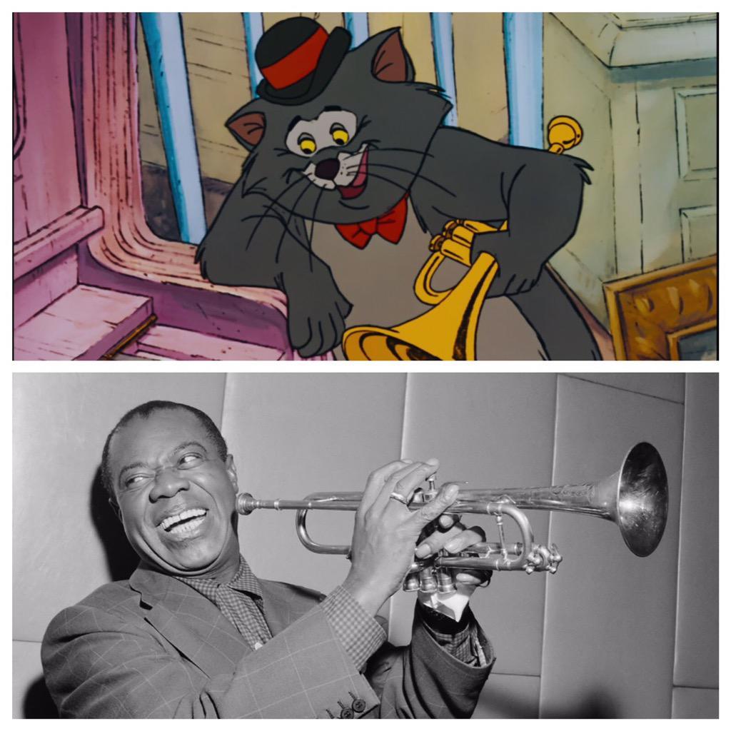 Personajes Disney inspirados en famosos CM0StZZVEAAZ-xu