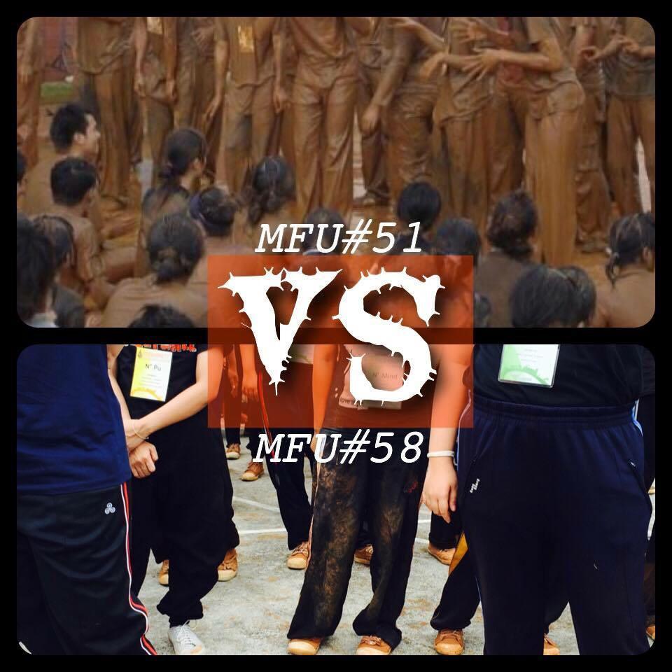รับน้องด้านบนปีพี่เองน้องเอ๋ย ทิ้งตั้งแต่เสื้อผ้า กกน กระทั่งรองเท้า โอยยย สมบุกสมบันสัส #mfu #มฟล http://t.co/YWvV78WVBa