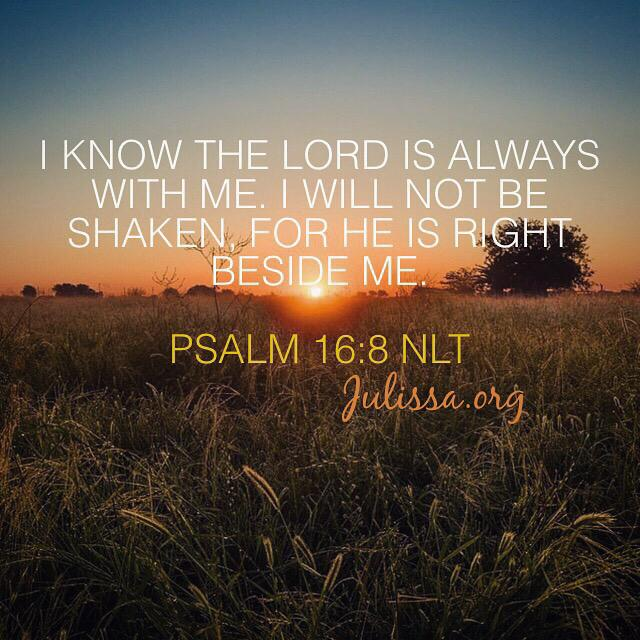 Psalms 16 8 Inspirational Image: 5 Inspiring Bible Verses For Returning College Students