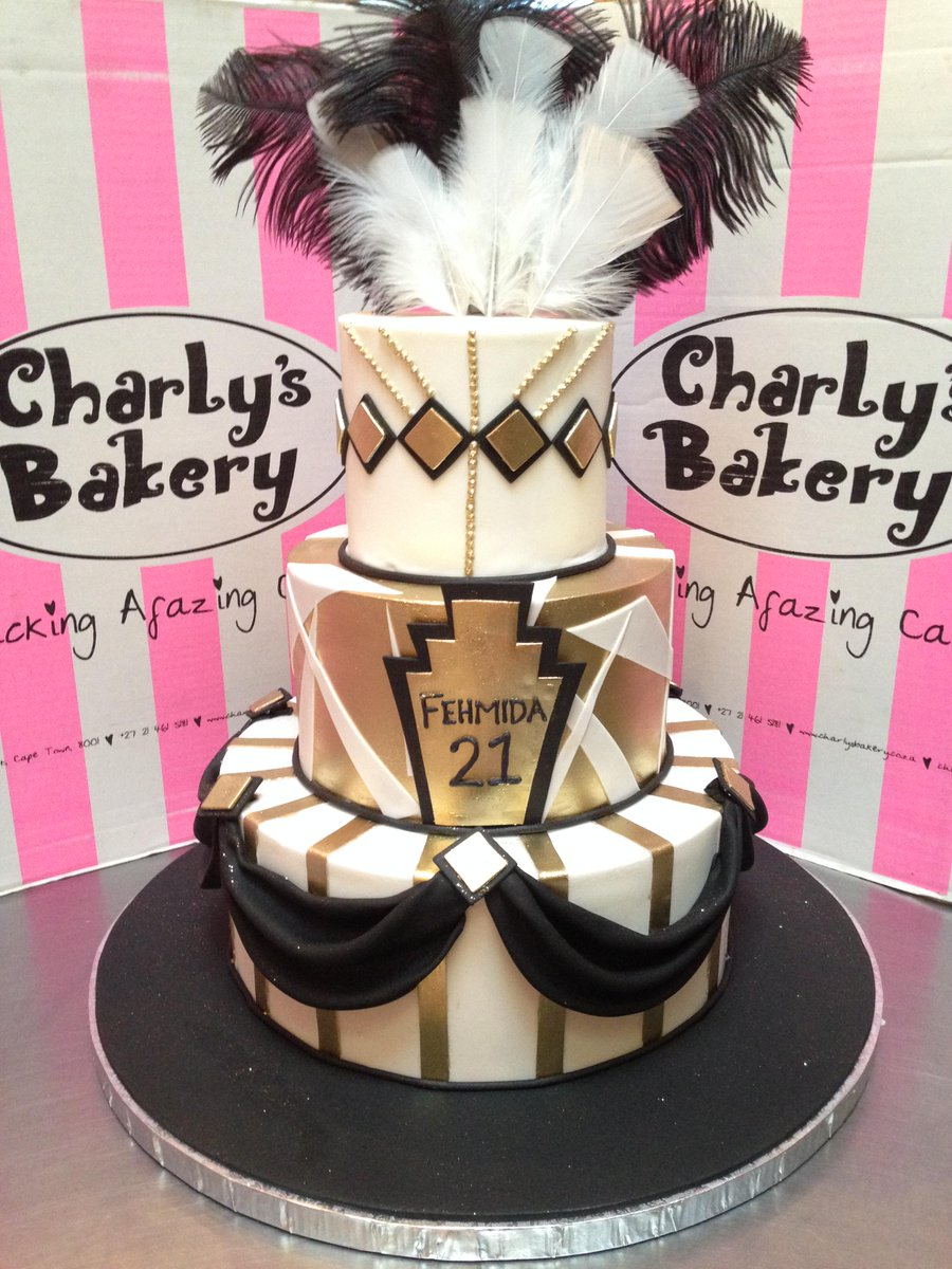 Charlys Bakery on Twitter Gorgeous Great Gatsby themed 21st