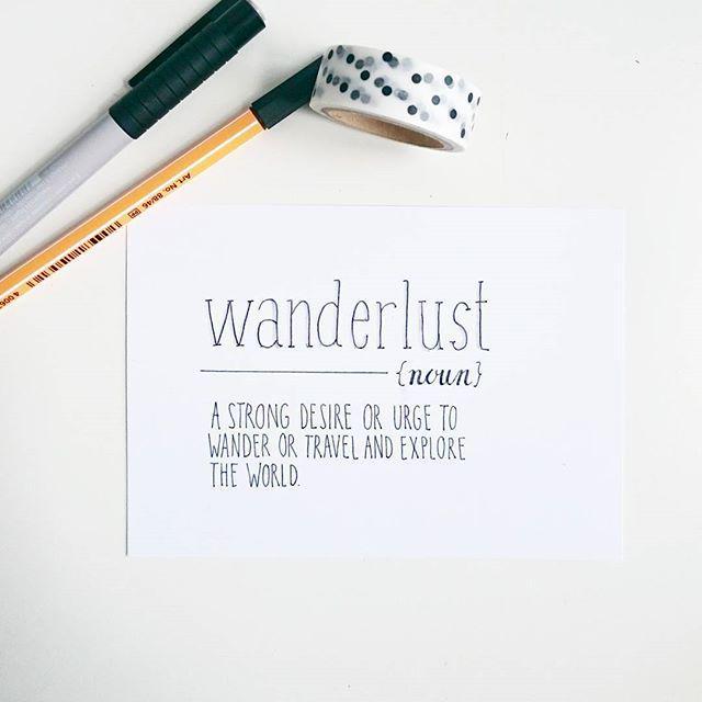 By pearodie Wanderlust und Vorfreude! Bald geht's los! #typographie #handlettering #wanderlust #flitzepinsel #typ…pic.twitter.com/mxm4K9MDcY