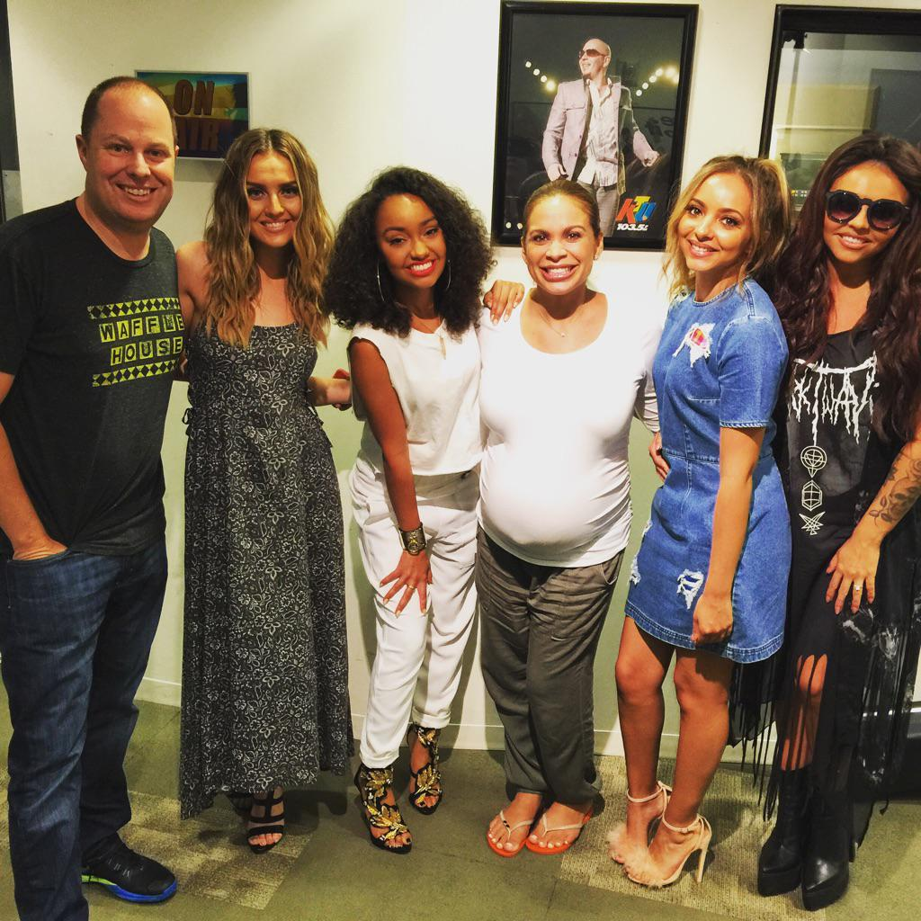 Thank You @LittleMix for stopping by @1035KTU to see me and @TheRealCarolina http://t.co/Ih8iNLgOsv