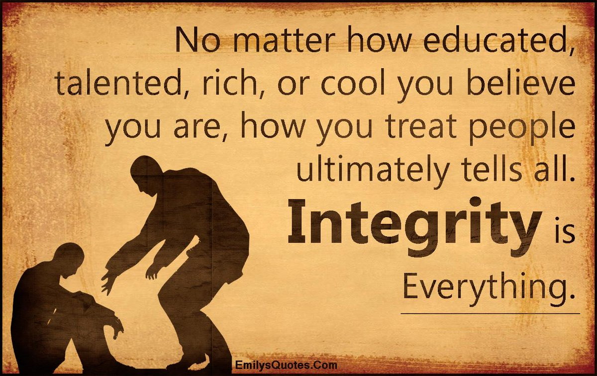 Knowgogrow On Twitter Integrity Is Everything Knowgogrow