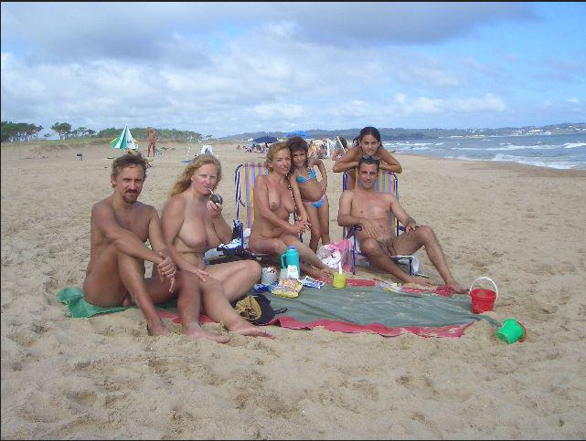 Nude family nudist was and with