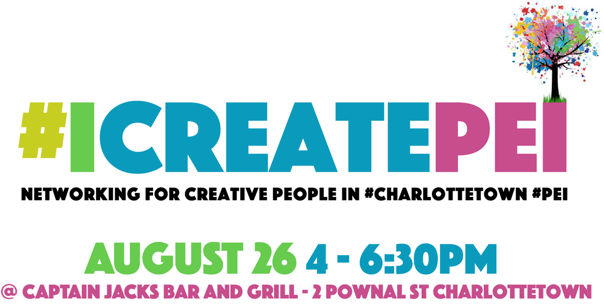 How do you inspire vibrancy and innovation in #charlottetown #pei ? What are you creating? #ICreatePEI @startup_pei http://t.co/LUAQVLl9Sl