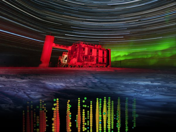 'Ghost particles' from space found in South Pole ice