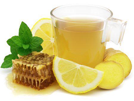 Рецепт имбирного чая от простуды