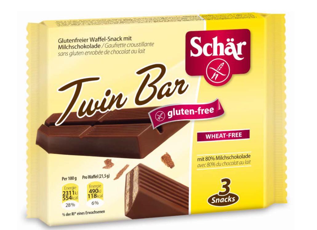 Salute News: Salmonella nelle barrette al cioccolato Dr Schar Twin Bar
