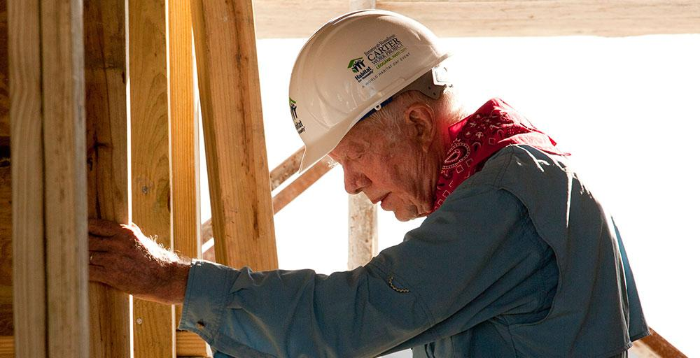Our hearts & prayers are with Pres. and Mrs. Carter http://t.co/Jux30MdThV #JimmyCarter #HabitatforHumanity http://t.co/NsNPLVXdFk