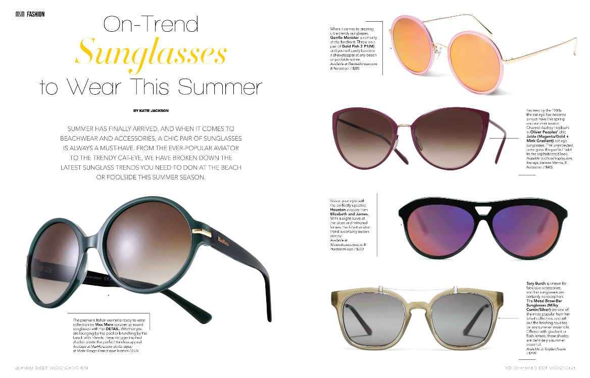 Make a statement with a pair of chic sunglasses! http://t.co/pllpiRh5SP http://t.co/q2QrXZAR3S