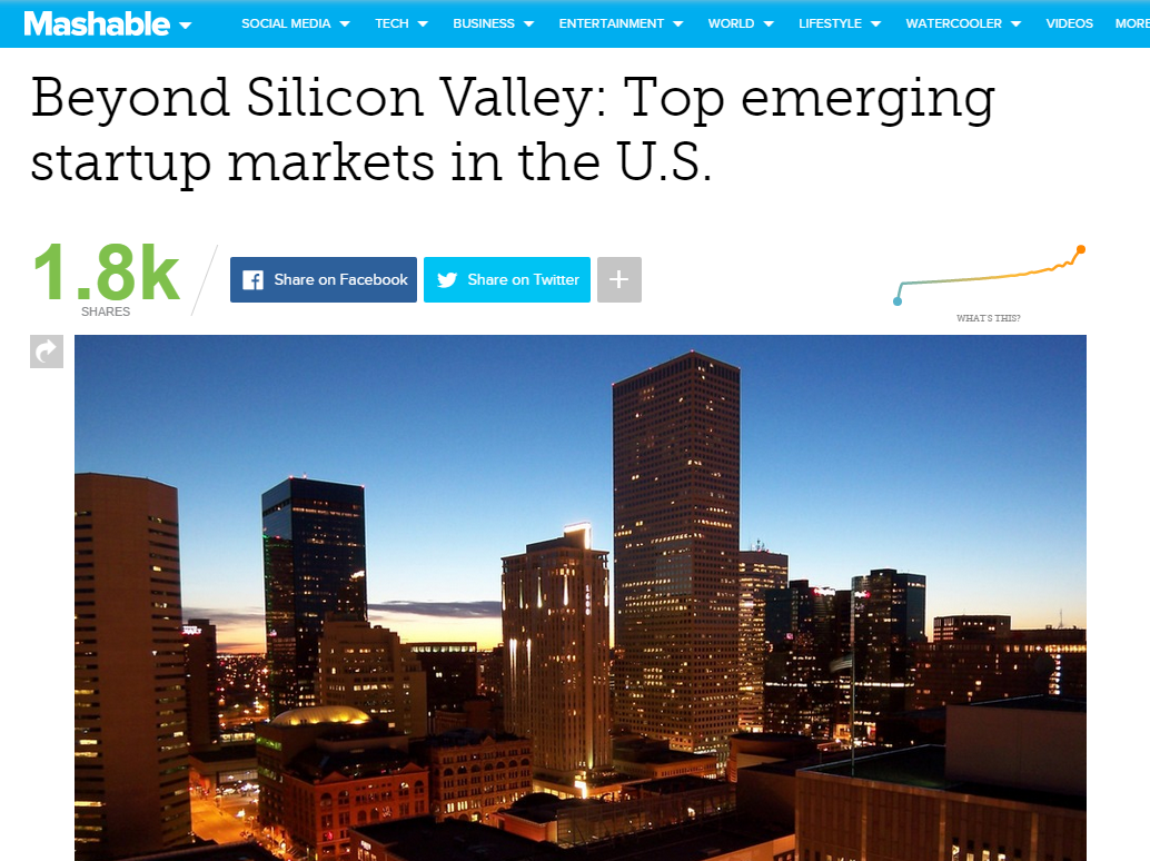 #MiamiTech + LiveAnswer mentioned in @Mashable post on top emerging #startup markets in the US http://t.co/17mj11v7Qr http://t.co/VCq1Zxz7oV