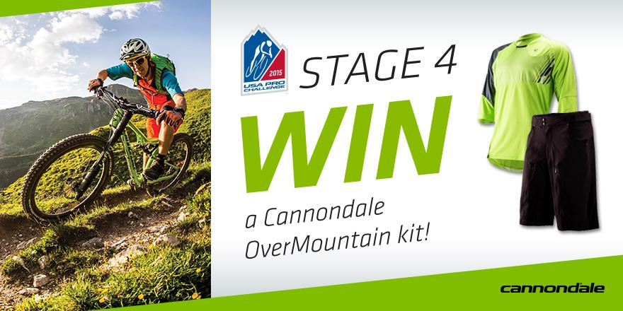 Stage 4 #ProChallenge contest! One lucky rider will look like a pro after winning this OverMountain kit. RT to enter! http://t.co/1exu226eFh