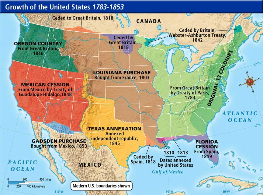 William Easterly On Twitter Mexico Offers To Pay For A Wall On - 1836 us map